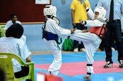 Taekwondo Tournament Stock Image