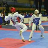 Taekwondo wtf toernooien Royalty-vrije Stock Fotografie