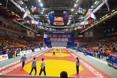 Taekwondo wtf tournament Stock Photos