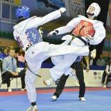 Taekwondo wtf tournament Stock Images