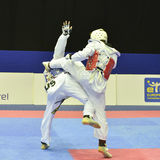 Taekwondo wtf tournament Royalty Free Stock Photography