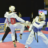 Taekwondo wtf tournament Stock Photos