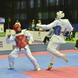 Taekwondo wtf tournament Stock Photo