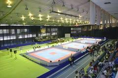 Taekwondo wtfturnering Arkivbilder