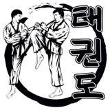 TaekwondoVer2 illustrazione vettoriale