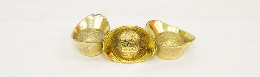 Taels dell'oro Fotografie Stock