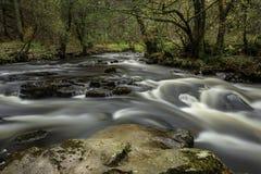 Taf Fechan flod fotografering för bildbyråer