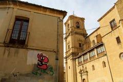 Tafalla Capital de Λα Navarra μέσα στοκ φωτογραφίες
