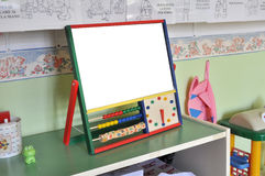 Tafel für Kinder Stockbild