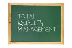 Tafel mit Unternehmensführungs-Meldung Stockbilder