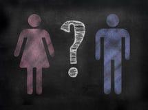 Tafel-oder Tafel-Geschlechtsbild lizenzfreie stockfotografie