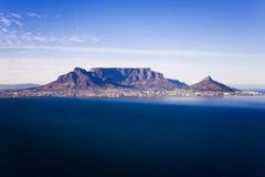 Tafelberg-Antenne Stockfotos