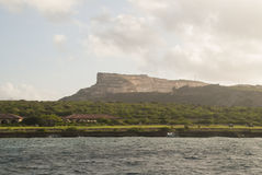 Tafelberg Curacao Royalty Free Stock Photography