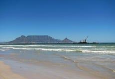 Tafelberg Südafrika lizenzfreie stockbilder