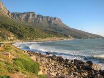 Tafelbergküstenlinie Lizenzfreies Stockfoto