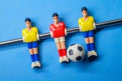 Tafelbladspel Foosball stock fotografie
