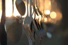 Tafelsilber-Leuchter Stockbilder