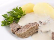 tafelspitz картошек Стоковые Фотографии RF