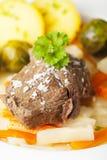 Tafelspitz meat Stock Photo