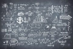 Tafeltafel-Beschaffenheit infographics Lizenzfreie Stockfotos