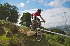 Taff Buggy Downhill Mountain Bike Royalty Free Stock Image