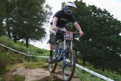 Taff Buggy Downhill Mountain Bike Royalty Free Stock Images