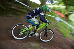 Taff Buggy Downhill Mountain Bike Stock Photo