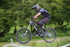 Taff Buggy Downhill Mountain Bike Royalty Free Stock Photos