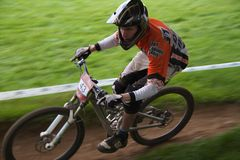Taff Buggy Downhill Mountain Bike Stock Image