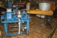 Taffy Machine 1917 imagen de archivo