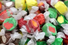 Taffy salty candy Stock Photo