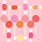 Taffy sweet candy Royalty Free Stock Photos