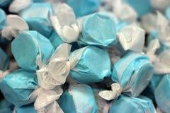Taffy zout suikergoed stock afbeeldingen