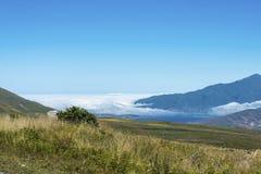 Tafi del Valle lake in Tucuman, Argentina. Royalty Free Stock Images