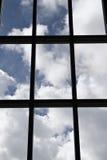 tafli ramowy okno Zdjęcie Royalty Free