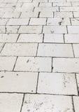 taflująca Croatia ulica podłogowa retro zdjęcia royalty free