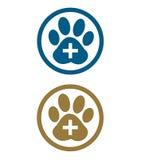 Tafsa det djura fotspåret Tecken Royaltyfri Illustrationer