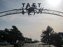 Taft Historical District. The Taft Historical District, Lincoln City, Oregon Royalty Free Stock Photography