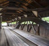 Taftsville Bridge before reconstruction Stock Photos
