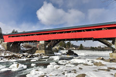 Taftsville Covered Bridge - Vermont Stock Photos
