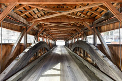 Taftsville Covered Bridge - Vermont royalty free stock photo