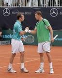 Tag 2, Tennis-Leistung-Pferden-Weltteam-Cup 2012 Lizenzfreies Stockbild