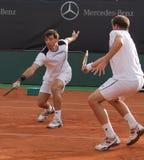 Tag 2, Tennis-Leistung-Pferden-Weltteam-Cup 2012 Stockfotografie