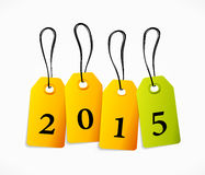 2015 tag Stock Photography