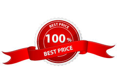 Tag for best price. Illustration of tag for best price on white background royalty free illustration