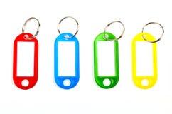 Tag chaves coloridos Fotografia de Stock Royalty Free