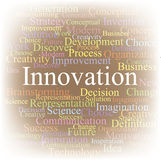 Tag cloud Innovation Royalty Free Stock Image