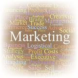 Tag cloud Marketing Stock Photography