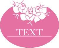 Tag com rosas Fotos de Stock Royalty Free