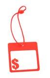 Tag com símbolo do dólar Fotos de Stock Royalty Free